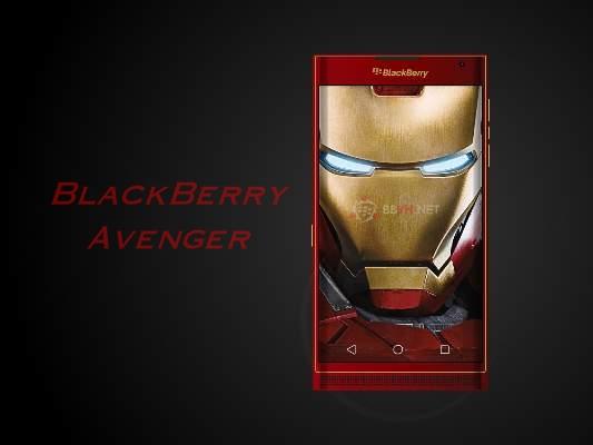 Đã xuất hiện BlackBerry Avenger 'Người báo thù'