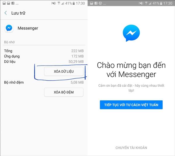 CHIA SẺ - Cách thoát Facebook Messenger hoàn toàn trên