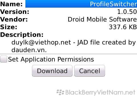 TỔNG HỢP - Cài đặt trò chơi, ứng dụng cho BlackBerry   Cộng