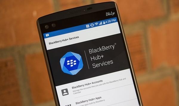 BlackBerry mở rộng các gói ứng dụng Hub + cho Android | Dâu Đen