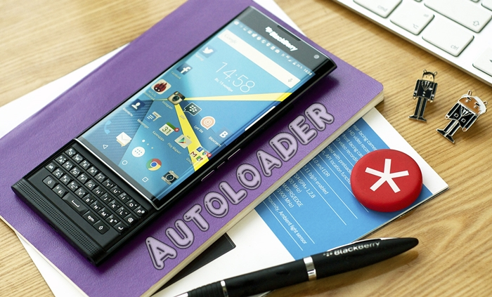How to use blackberry autoloader