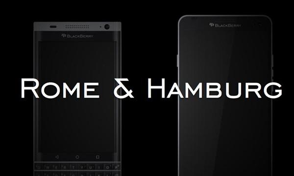 Những tin đồn xung quanh hai thiết bị BlackBerry Rome và Hamburg từ BlackBerry Central