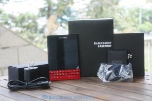 BlackBerry Passport Đỏ tại Việt Nam