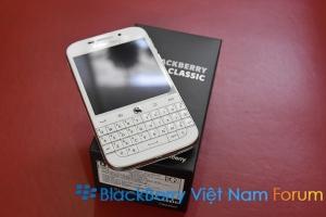[BBVN.NET] Đập hộp BlackBerry Classic màu trắng chính hãng tại Việt Nam