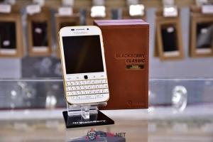 [BBVN.NET] Đập hộp BlackBerry Classic White - GOLD Edition 24K