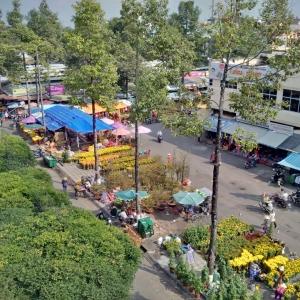 chợ hoa Rạch Giá