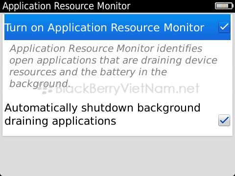 [Beta Zone] Application Resource Monitor  cho php ng k th nghim