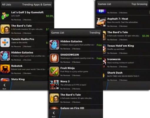 Game nổi tiếng của Gameloft và Halfbrick đã sẵn sàng cho BlackBerry 10.