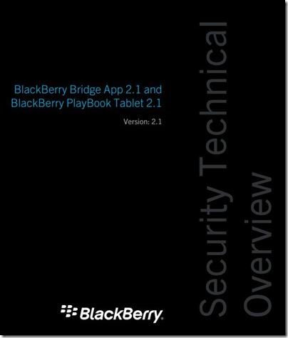 Tài liệu về BlackBerry® PlayBook™ OS 2.1 & Bridge 2.1 được công bố