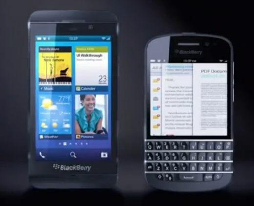 BlackBerry 10 có thể là mốc chấm dứt thời kỳ BlackBerry dùng phím cứng chức năng của RIM